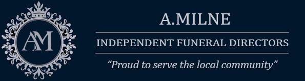 A.Milne Independent Funeral Directors Dumbarton Logo